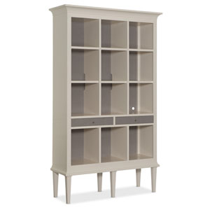 White Open Display Cabinet
