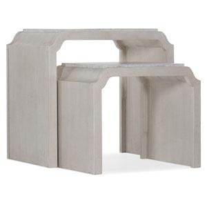 White Nesting Tables