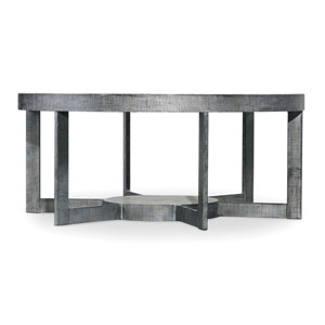 Mill Valley Gray Round Cocktail Table