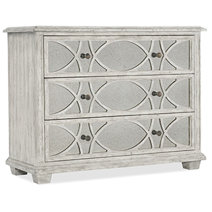 Boheme White Duvel Accent Chest