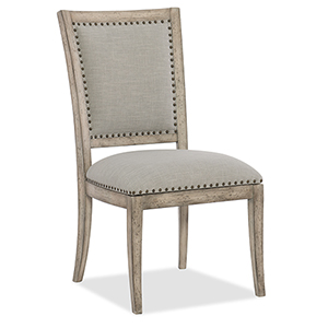 Boheme Vitton Beige Upholstered Side Chair