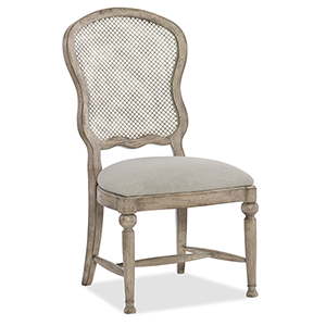 Boheme Gaston Metal Back Side Chair