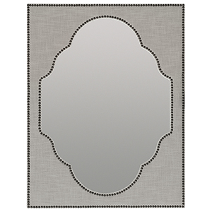 Boheme Nourmand Linen Wrapped Mirror