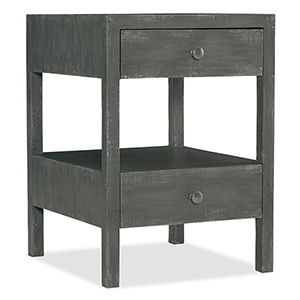 Boheme Blue Brussels Two-Drawer Nightstand