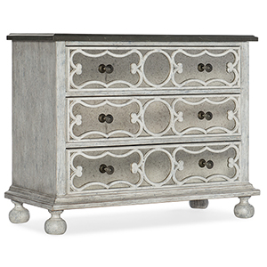 Beaumont White Accent Chest