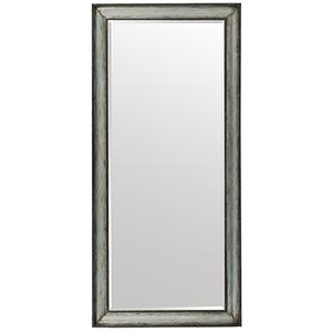 Beaumont Dark Wood Floor Mirror