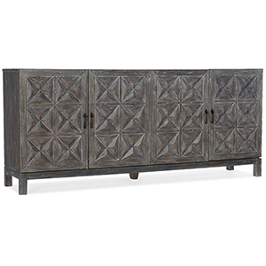 Beaumont Gray Entertainment Console