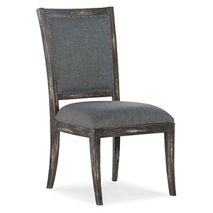 Beaumont Gray Upholstered Side Chair