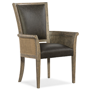 Beaumont Light Wood Host Chair