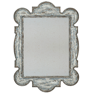 Beaumont Blue Accent Mirror