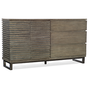 Annex Gray Eight-Drawer Dresser