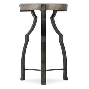 Medium Wood Modele Round End Table