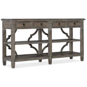 Medium Wood Modele Console Table