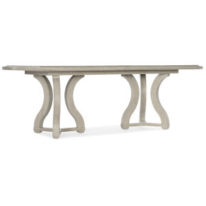Reverie Gray 86-Inch Rectangle Dining Table