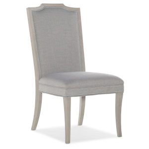 Reverie Gray 41-Inch Upholstered Side Chair