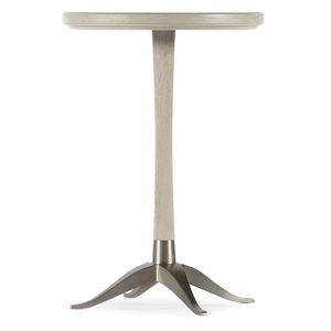 Reverie Gray 18-Inch Martini Table