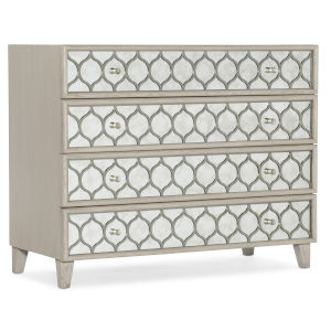 Reverie Gray 40-Inch Mirrored Bachelors Chest