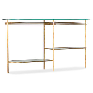 Gold 28-Inch Balanced Console Table