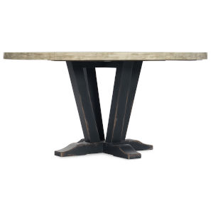 Ciao Bella Black 60-Inch Round Dining Table