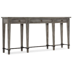 Ciao Bella Gray 68-Inch Narrow Console Table
