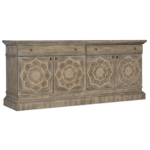 Dahlia Light Wood Entertainment Console