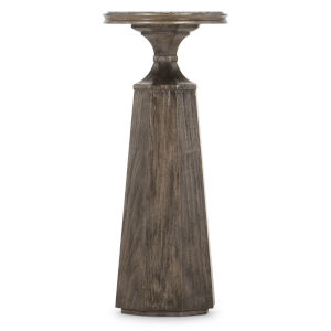 Woodlands Medium Wood 10-Inch Martini Table
