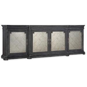 Woodlands Charcoal 105-Inch Four-Door Credenza