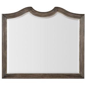 Woodlands Medium Wood 48-Inch Mirror