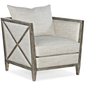 Sanctuary Light Wood Lounge Chair