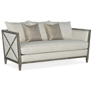 Sanctuary Light Wood Sofa
