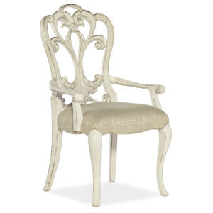 Sanctuary Champagne Celebrite Arm Chair