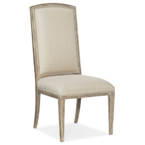 Sanctuary Light Wood Cambre Side Chair