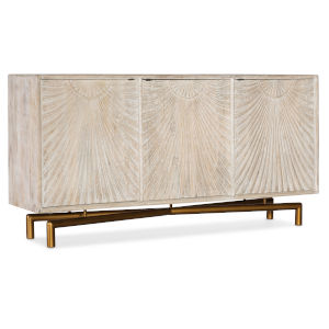 Light Wood 69-Inch Entertainment Console