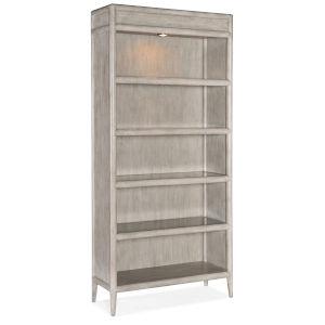 Burnham Grey Mink Bookcase