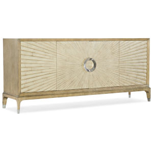 Novella French Vanilla Entertainment Console