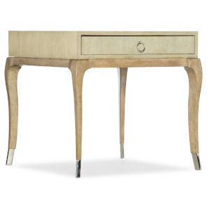 Novella French Vanilla Rectangle End Table