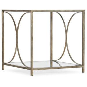 Novella Champagne End Table