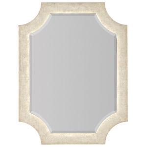 Novella French Vanilla 34 x 44 Inch Mirror
