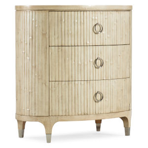 Novella French Vanilla Three-Drawer Nightstand
