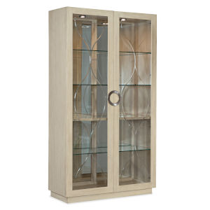 Newport French Vanilla Display Cabinet