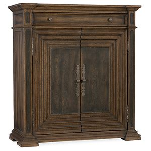 Hill Country Cypress Mill Brown Accent Chest