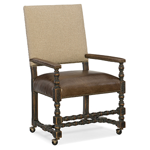 Hill Country Brown and Beige Comfort Game Chair