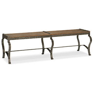 Hill Country Ozark Brown Bench