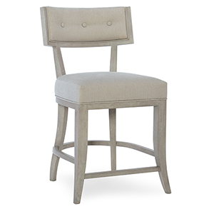 Elixir Klismos White Counter Stool