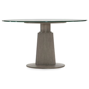 Elixir Gray 54-Inch Round Dining Table