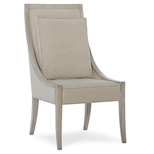 Elixir Beige Host Chair