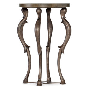 Vera Cruz Russet Brown Martini Table