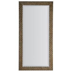 Sundance Dark Brown and Silver Floor Mirror