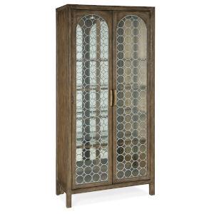 Sundance Brown Display Cabinet