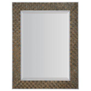 Sundance Dark Brown and Silver Portrait Mirror
